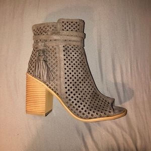 London Rag Shoes - 🌻NEW HEATHER GREY ANKLE BOOTIES 🌻
